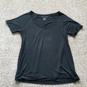 AE Soft & Sexy Short Sleeve Tee Black Size XS